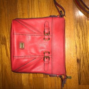 B.o.c. Red purse great shape